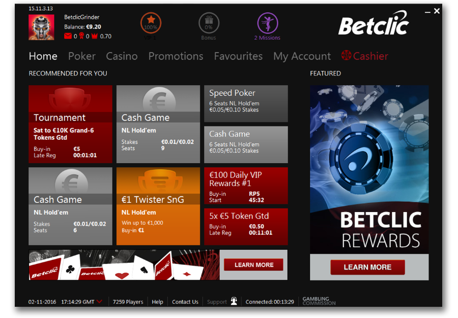 telecharger Betclic poker