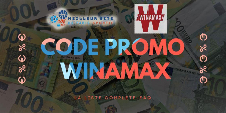 Winamax Code Promo