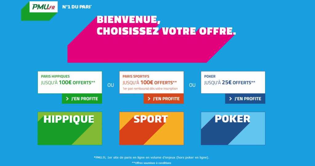 bonus de PMU Sportsbook
