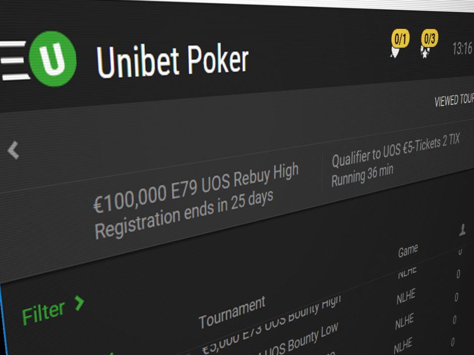 unibet poker en France